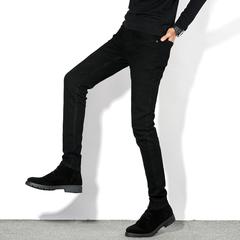 男士铅笔裤弹力小脚