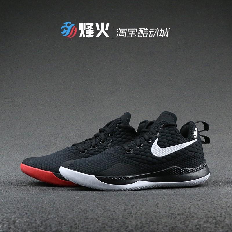烽火 NIKE LEBRON WITNESS III 詹姆斯实战篮球鞋 AO4432-001 006