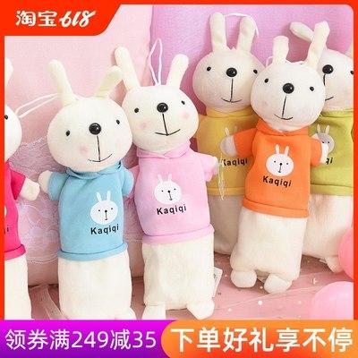 笔袋女文具袋兔子铅笔袋文具盒男小学生可爱简约创意儿童韩国批发