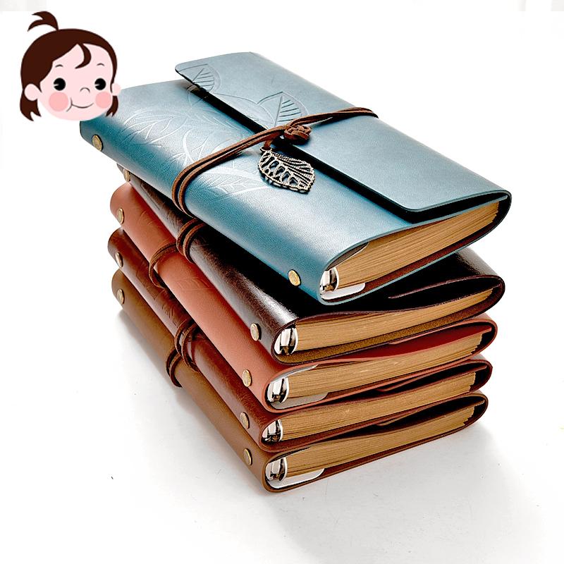 皮质笔记本本子