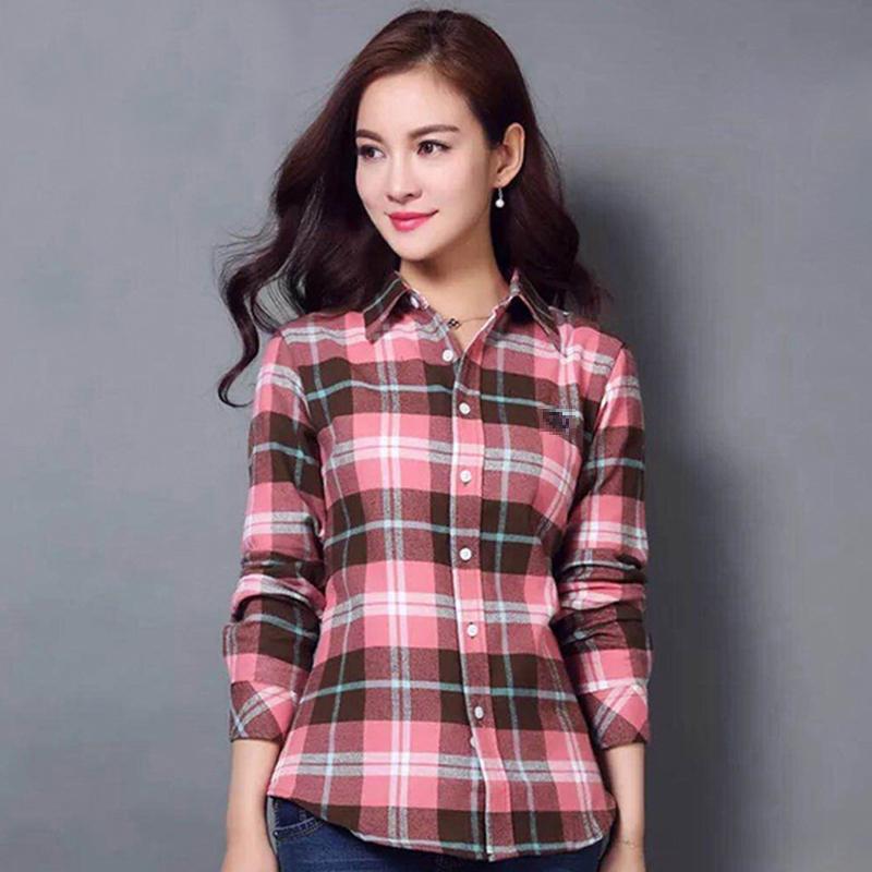 春品牌女衬衫