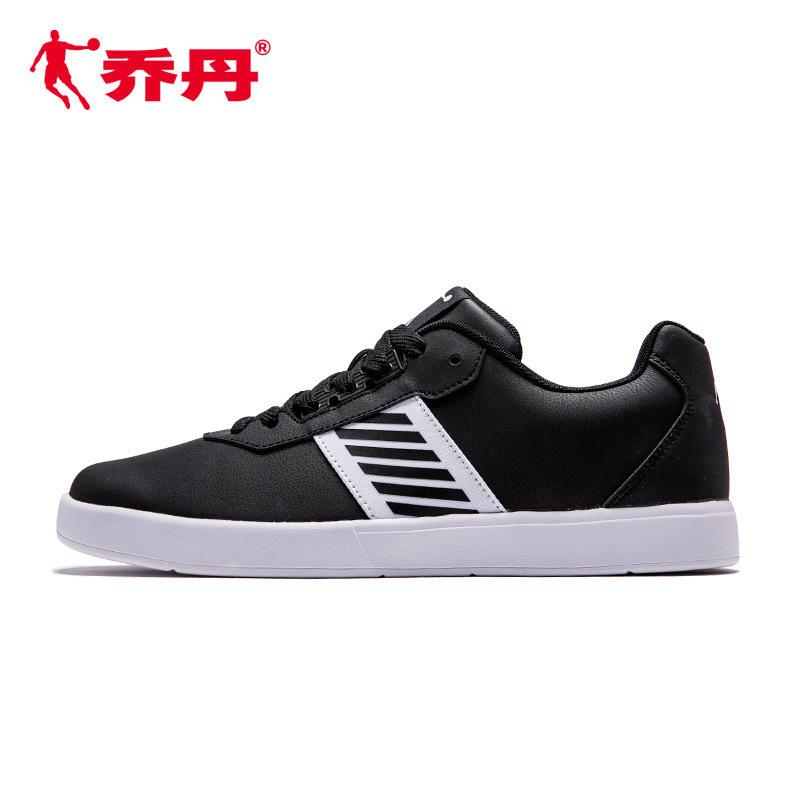 乔丹男鞋板鞋2018新品运动鞋时尚简约休闲鞋潮流滑板鞋