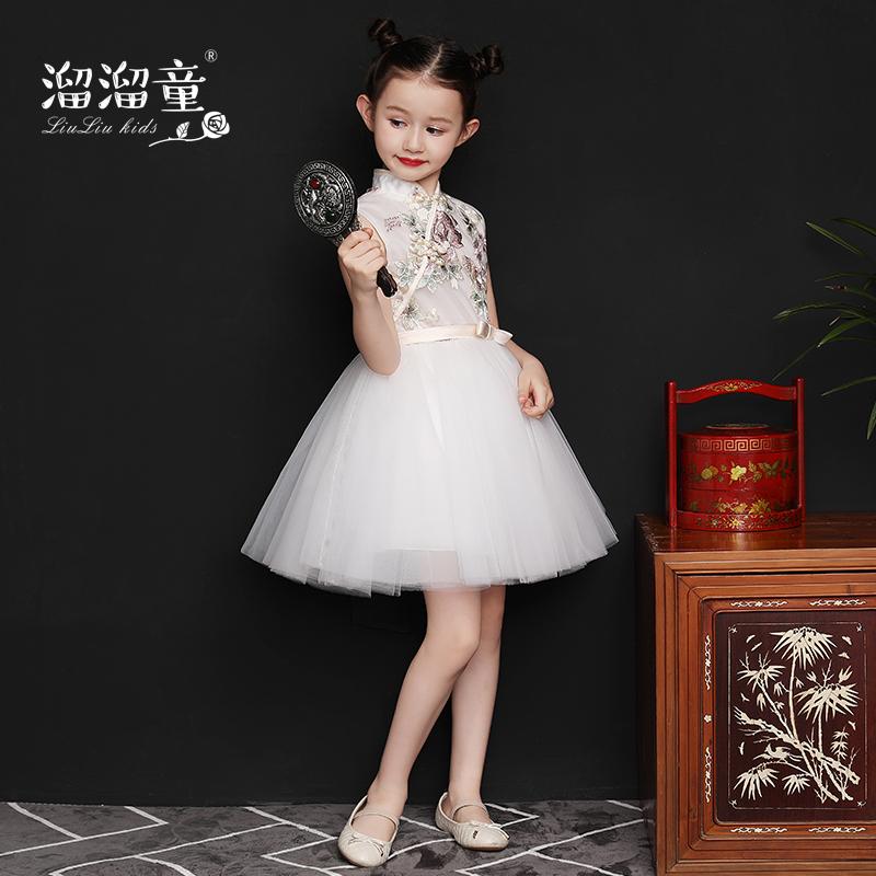 女童唐装演出服