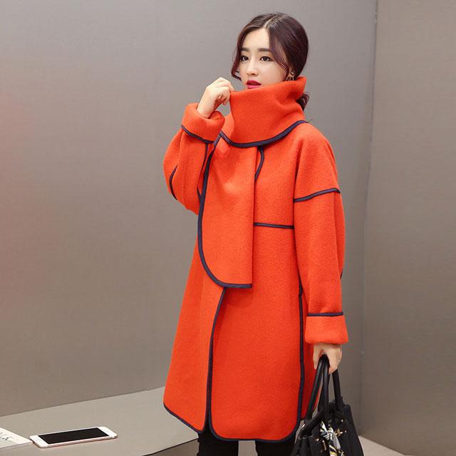 韩国斗篷外套女