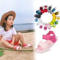 Children's sandals girls baby beach shoes hole shoes 1-10 years old boy child non-slip soft bottom jelly shoes sports