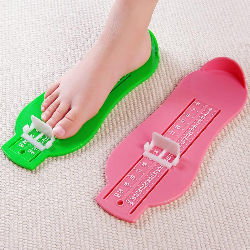 创意儿童宝宝量脚器家用脚长测量尺儿童婴儿买鞋量鞋器脚掌测量器