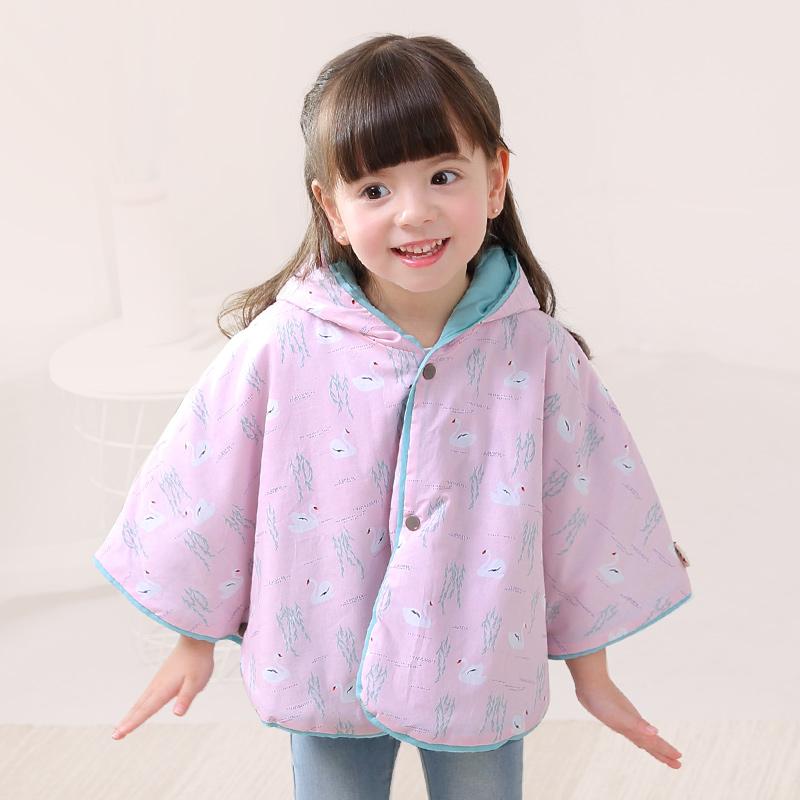 婴儿斗篷披风春秋外出薄款儿童披风女童披肩防风公主宝宝斗篷外套