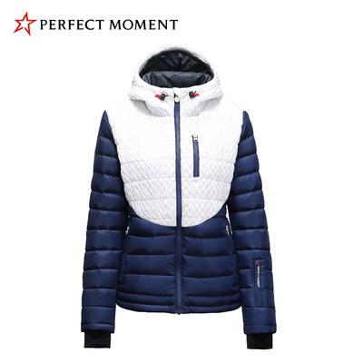 法国Perfect Moment专柜白鹅绒防泼水保暖户外双板滑雪服女