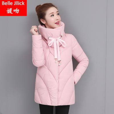 立领羽绒棉服初高中学生冬季新款韩版加厚外套少女小清新甜美棉衣