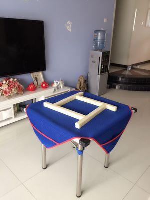 加厚麻将桌布带兜麻将桌布垫家用麻将桌垫麻将布桌布消音垫子桌布