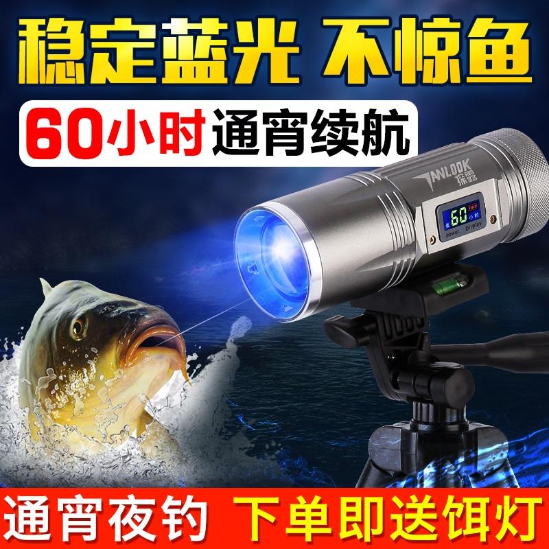 钓鱼蓝光射灯