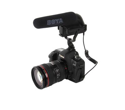 BOYA BY-VM200攝錄機 5D2 5D3單反DV錄音 電容麥克風采訪話筒什么牌子好
