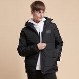 361 short down jacket men's winter new plus thick warm duck down trend casual men's sports hoodcoat jacket