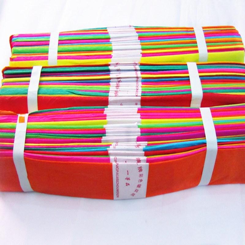 皱纹折纸花套装手工材料包做玫瑰的diy彩色初学者
