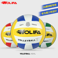 Fire cube volleyball inflatable soft high school entrance examination students practice special volleyball adult children competition training No. 5