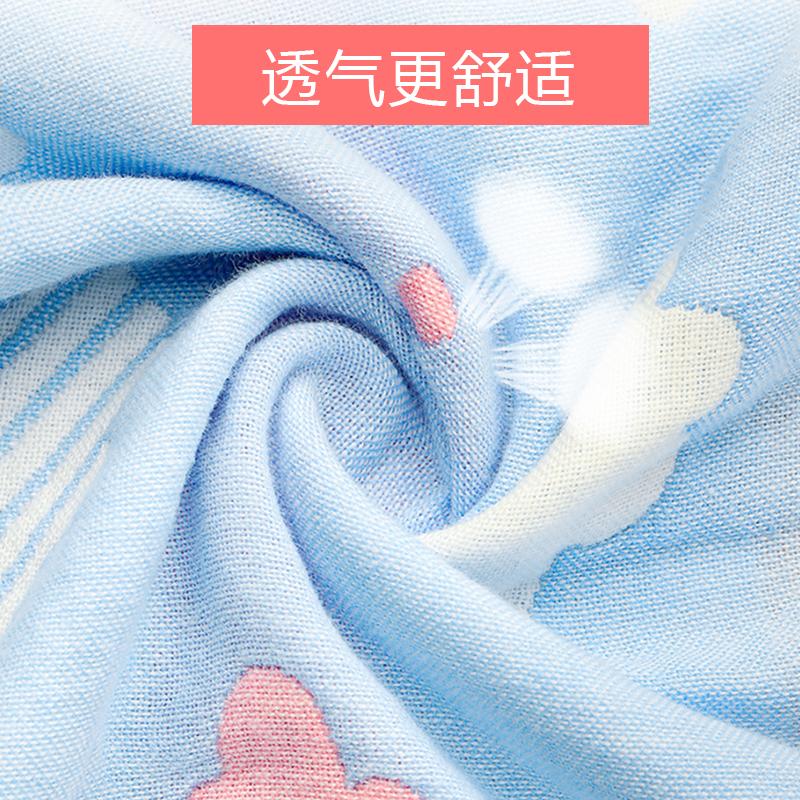 口水巾360度旋转纯棉婴儿围兜防水婴儿口水巾夏天 纯棉 薄款 超薄