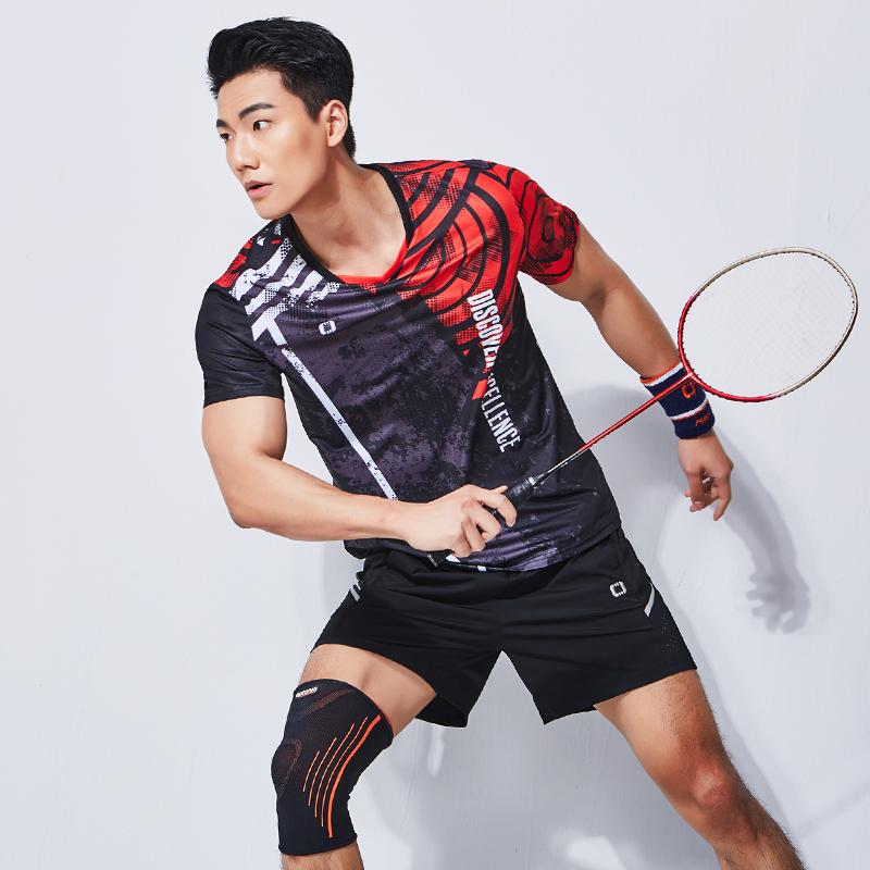 2019春夏新款佩琪酷羽毛球服男女套装速干吸汗网球服羽毛球运动服
