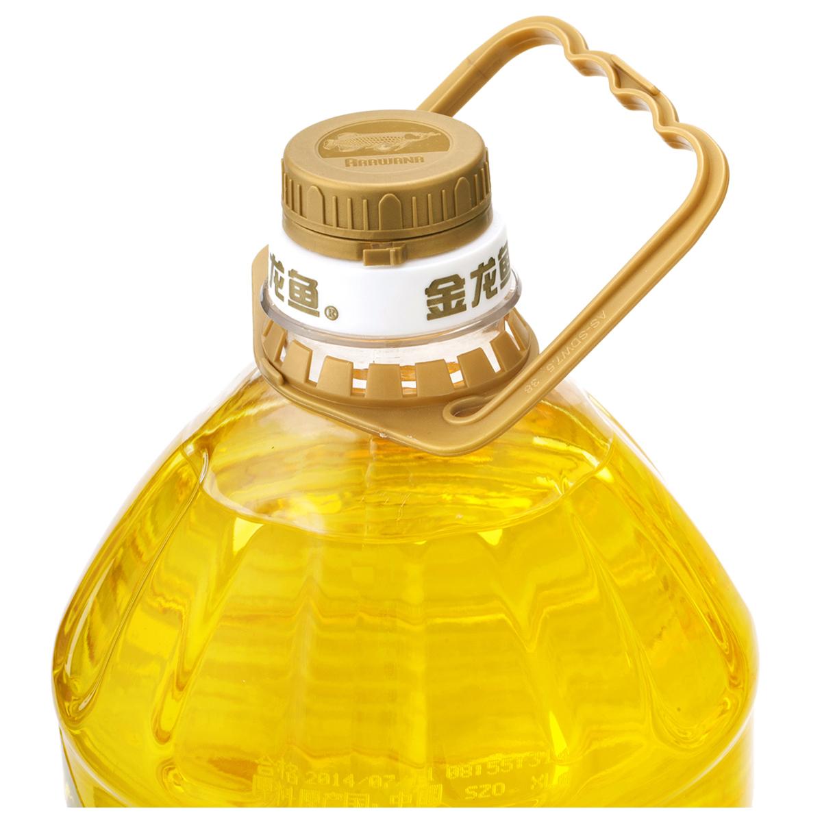 金龙鱼玉米油5L+金龙鱼寒地东北大米5KG