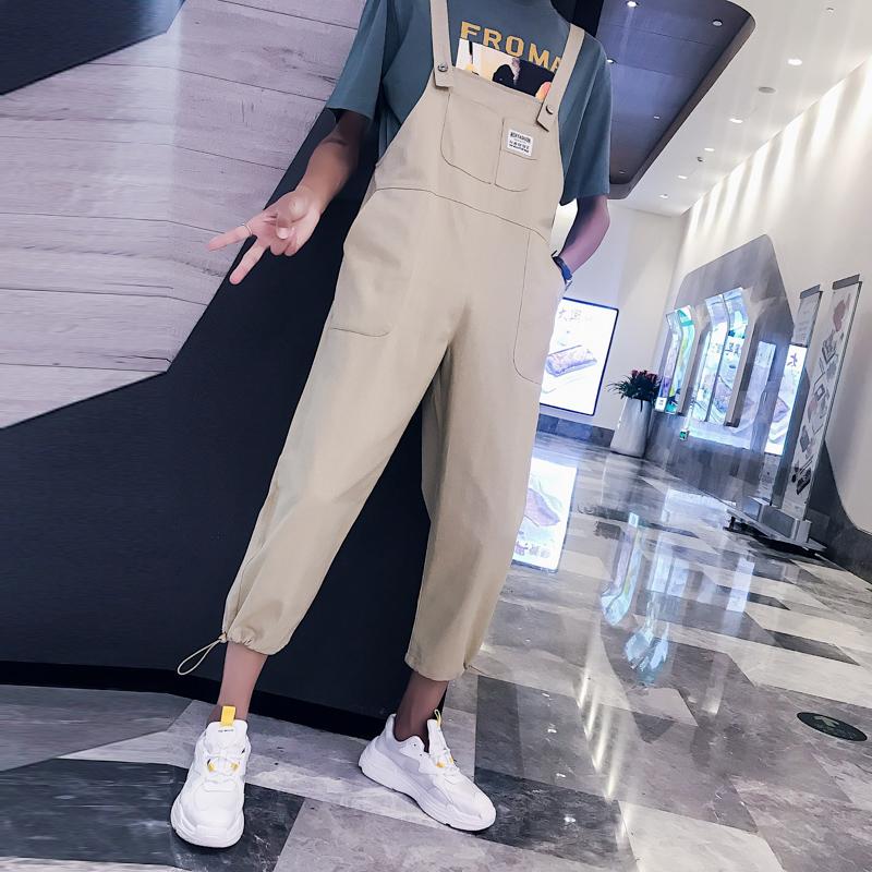 男连体工装裤