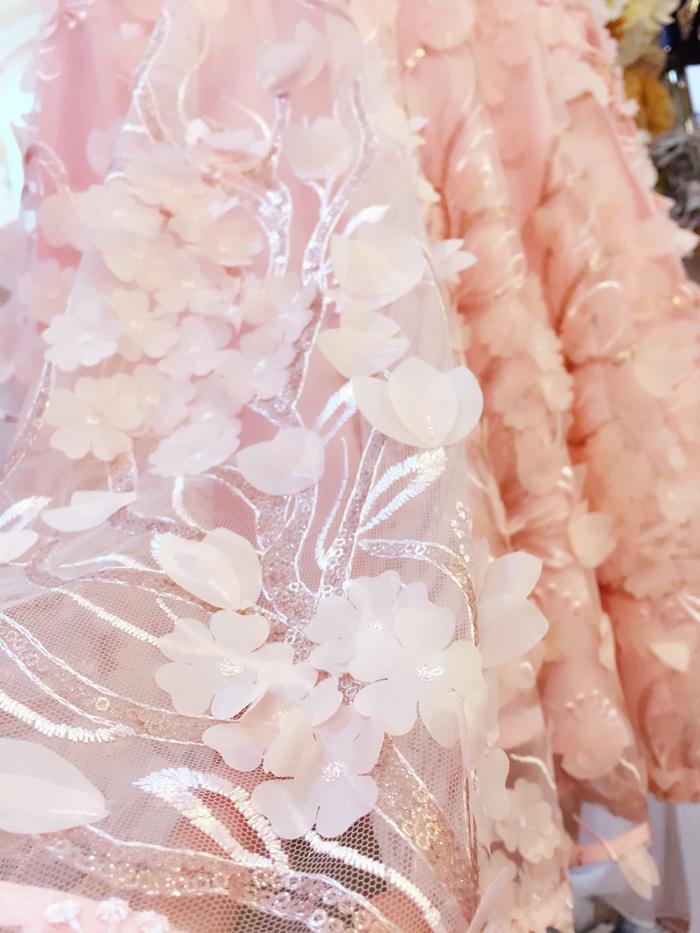 2018新款韩版无袖收腰显瘦刺绣a字裙拼接网纱蕾丝连衣裙女夏