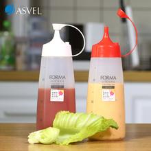 日本ASVEL塑料家用蜂蜜尖嘴瓶厨房挤酱瓶果酱番茄沙拉挤压调料瓶