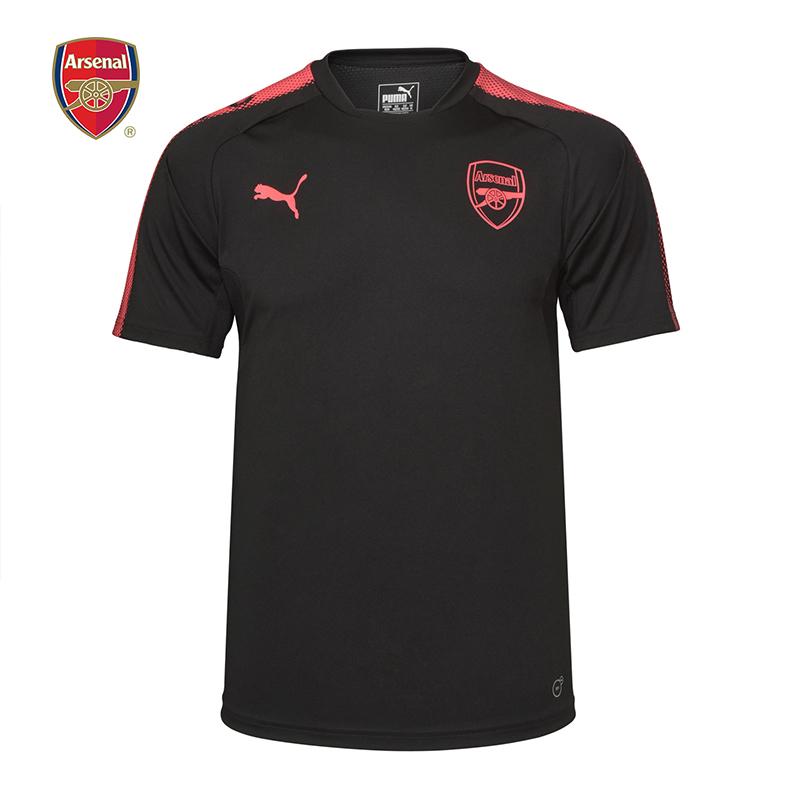 阿森纳Arsenal彪马Puma17-18第三套男短袖运动T恤球衣队服训练服