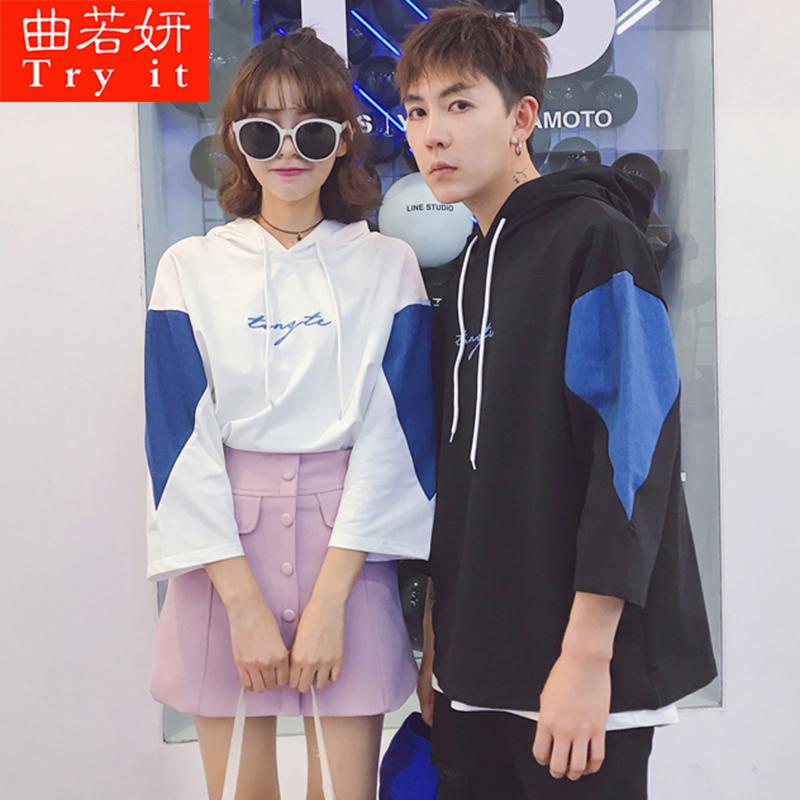 夏季韩版情侣装上衣