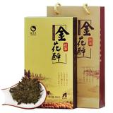 Hunan Anhua black tea gold flower brick tea YiQingyuan golden flower drunk 760g tea Anhua black tea brick tea