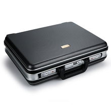 ABS Portable Password Box Business Aluminum Alloy Briefcase Tools and Instruments Business Luggage Information Box Travel Boarding