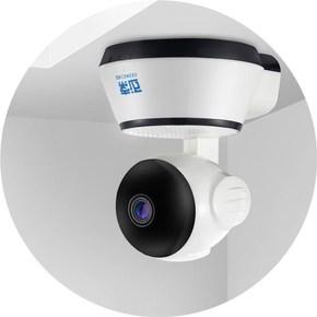 爆款微型无线摄像头家用wifi隐形手机监控器远程高清灯泡超小防盗