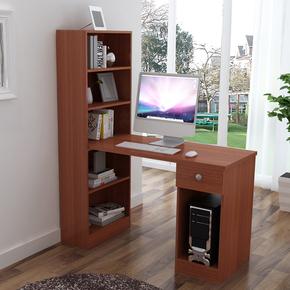 电脑桌特价书柜简易书桌学生书桌书架自由组合书柜一体桌简约台式