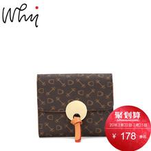 【热卖】why女包钱包日韩款简约2017新款YYP513601短款钱包包女