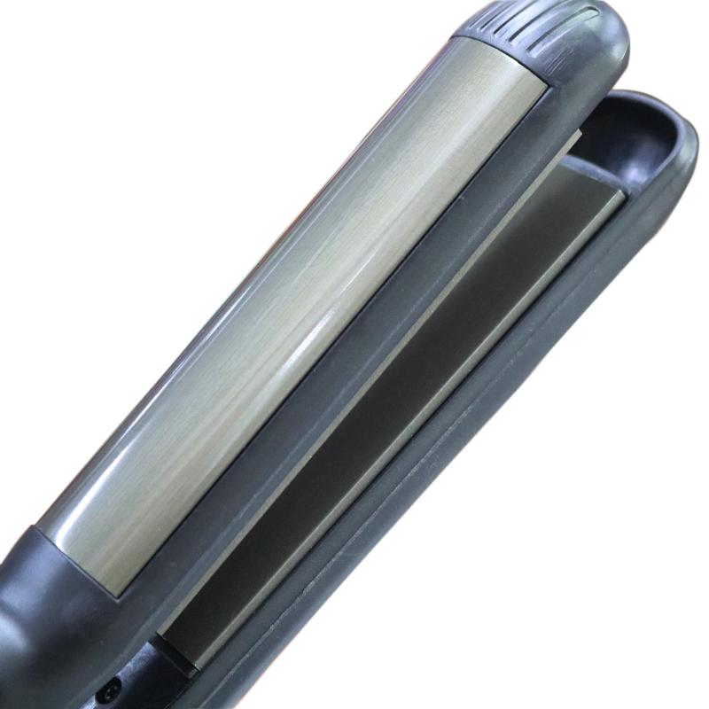 蛋蛋卷头电卷发棒夹板直发卷发两用内扣卷发拉直熨板水波纹影楼
