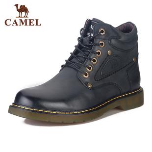 Camel/骆驼男鞋2017冬款休闲鞋 牛筋底马丁靴 大头鞋A274213242