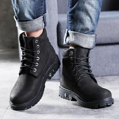 电暖鞋充电可行走男冬季大脚狼电热鞋锂电加热发热暖脚保暖棉军靴
