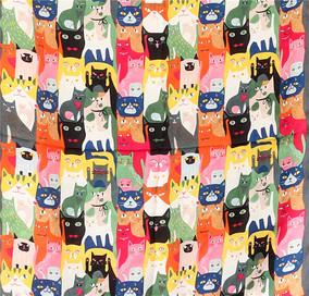 猫咪丝巾 0.04kg