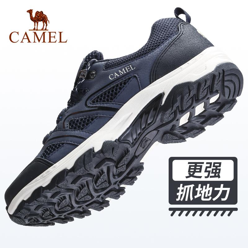 駱駝2019夏季新款登山鞋男跑步鞋越野爬防滑耐磨戶外運動徒步鞋女