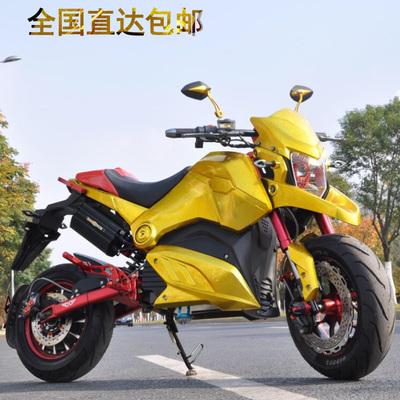 高配m5小猴子电摩m3电动车成人高速电动摩托车跨骑小跑车街车机车