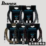 正品Ibanez依班娜吉他连接线SI系列电吉他连接线音箱降噪线3/6米