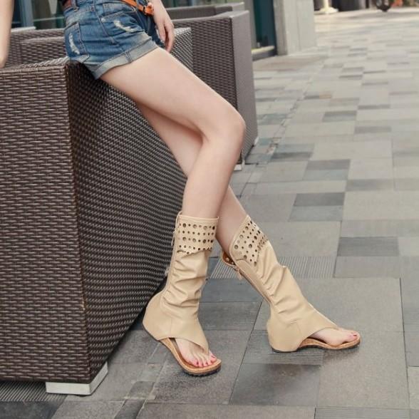 时尚韩版单靴