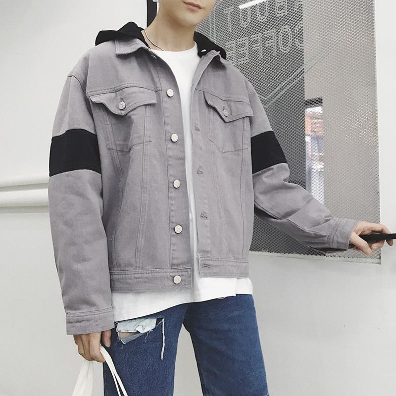 外套短款牛仔布长袖外套