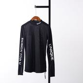 【白菜】D@30 2018秋季新款时尚圆领上衣韩版长袖套头休闲针织衫