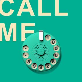 bbdd开了出品老电话停车牌挪车电话号码牌创意汽车香氛
