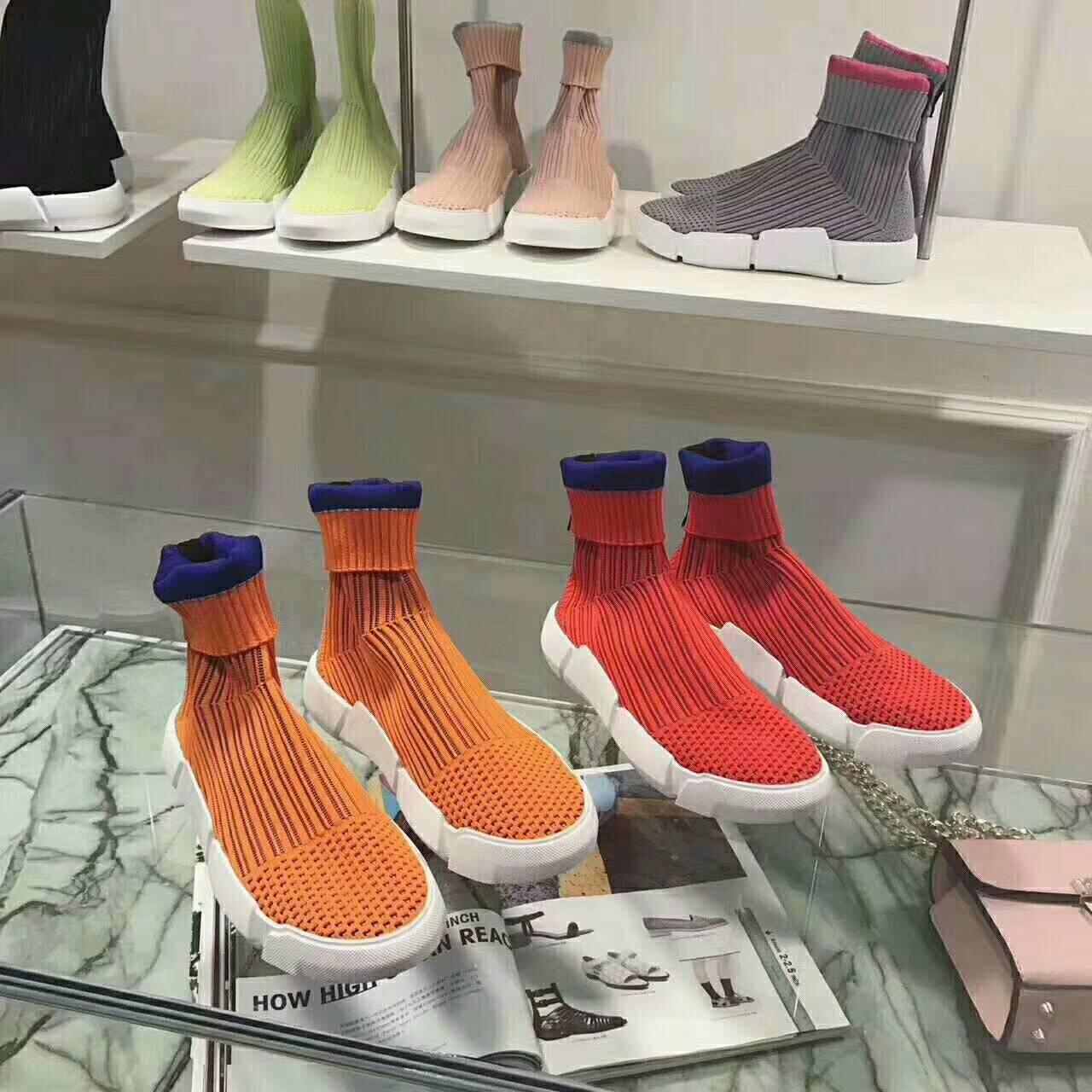 欧洲厚底女短靴