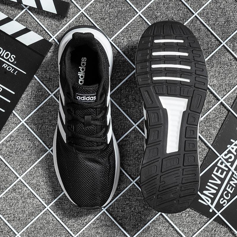 阿迪达斯男鞋2019冬季新款正品男士运动鞋轻便休闲鞋轻便跑步鞋男