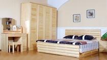 征嵘品牌特卖松木弧形箱体1.8米双人床1.5米单体床1.2米儿童床