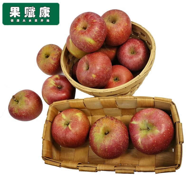 云南昭通苹果早熟丑苹果高原苹果中果10斤净重 冰糖心新鲜包邮