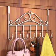 门后挂钩置物架壁挂衣架浴室无痕免钉门挂架门背式门上衣服衣帽钩