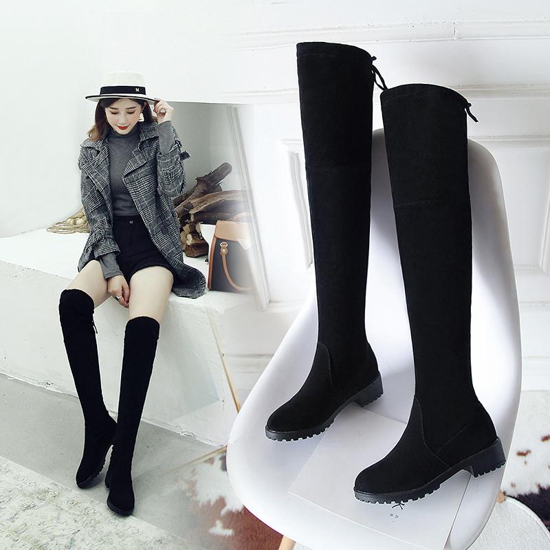 韩版休闲长靴