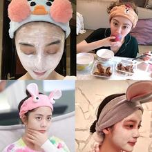 青春旅社景甜同款发带女洗脸发箍韩国可爱卡通网红宽边洗漱束发带
